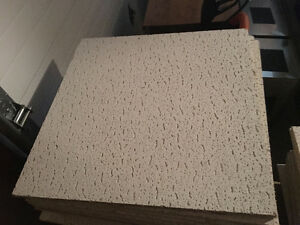 Drop/Suspended Ceiling Tiles - White - Different Sizes Available