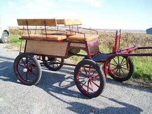 * voitures * cart *  wagon *  fait au QUEBEC !