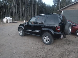 2005 Jeep Liberty CRD Limited SUV, Crossover