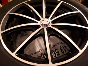 """Mags 17""""  5x114.3 rtx top shape"""