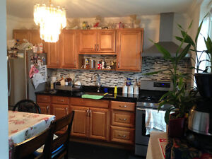 Beautiful two bedroom apartment main floor of a house