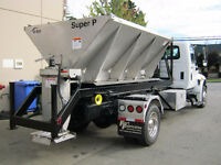 SALTING TRUCK FOR HIRE