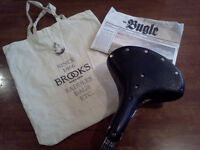 brand new Brooks B33 leather sprung saddle