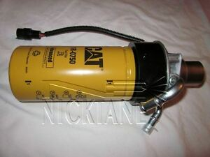 NICKTANE Duramax Hi Flow CAT CATERPILLAR Fuel Filter Adapter With Filter 1R-0750