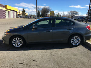 2012 Honda Civic EX Sedan-97200 KMs with 2-way remote starter