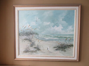 Oil Painting on Canvas in Quality Vintage Frame