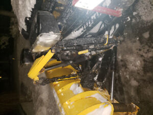Fisher straight commercial snowplow! Like New !