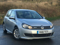 Volkswagen Golf 1.6TDI ( 105ps ) Tech 20110 BLUEMOTION PX SWAP FINANCE WARRANTY