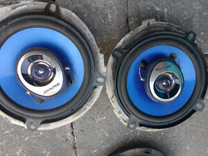 "Alpine SPS-1329S 5 1/4"" 2-way Car Speakers"