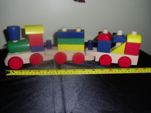 All wood toys for sale