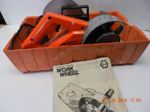"""DÉCAPEUSE / PONCEUSE MOTORISÉE """" WORKWHELL """""""