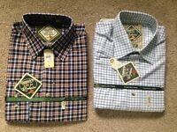 "Two men's shirts 16-16.5"""