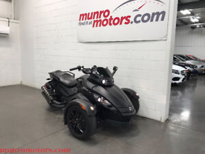 2008 Can-AM Spyder GS RS SE5 Semi Auto Flat Black Low KMs