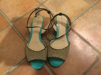 Red Herring sandals size 6 NEW with tags