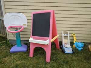Home daycare clean out! Outdoor toys for sale.