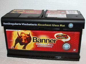 Banner Running Bull 57001 AGM 70Ah 12V Autobatterie Start-Stop Type 570 01