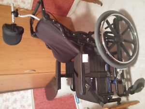 Wheelchair and Hoyer