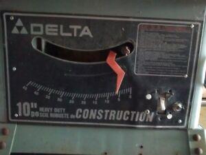 banc de scie Delta