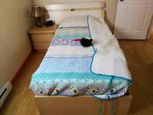 Meubles de chambre à coucher simple