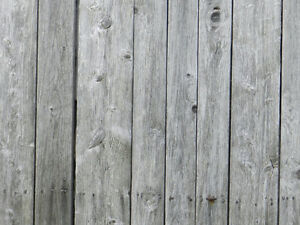 ISO Barn wood or old fence boards