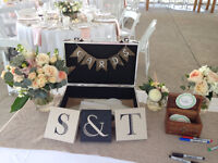 PINTEREST-Y Wedding Decor! Rustic-chic decor package for $200