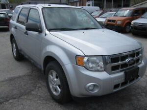2012 FORD ESCAPE XLT FWD V6 NEW TIRES CERTIFIED
