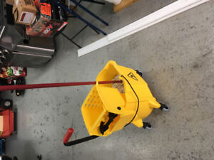 Cleaning Bucket and Mop