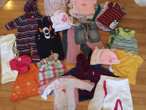 50 + items Various Baby clothes 0-12 months