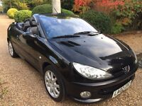Peugeot 206CC 2.0 02 plate 63000 miles only