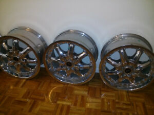 "17"" Chrome Dale Earnhardt Jr. Racing Series Rims"