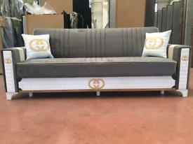 ♠️♠️Adorable Design Brand New Turkish Sofa Bed With Storage