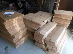 Packaging cardboard boxes new