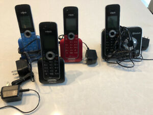 VTECH Bluetooth cordless home phones