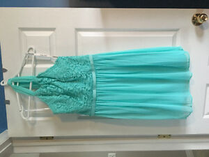 4 short bridesmaid's dresses $50 each - great condition!