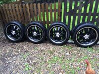 Mitsibushi 20 inch Zito Alloys with tyres *REDUCED*