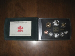 2004 Canadian Silver Proof Set