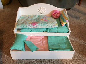 American Girl Dolls & Furniture- Hardly Used New Condition