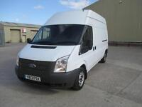 2013 Ford Transit 2.2TDCi 125PS euro 5 300L lwb sld pas boarded in rear 1 owner