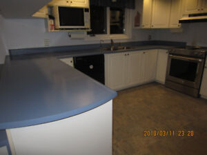 Counter Tops (many pieces) & Double Sink