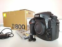 Nikon D800 with extras