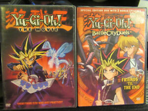 YU-Gi-OH! MOVIE and SPECIAL 2 BONUS EPISODE DVD /BOTH for $15.00