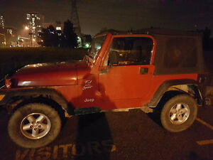 2000 Jeep TJ 2 Door Wrangler Sport Convertible