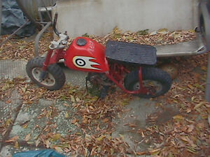 WANTED: Pit bikes, mini bikes, ATV's, ATC's & PARTS