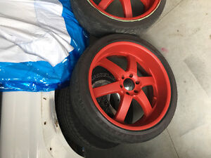 Boss rims and tires