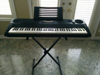 Casio WK-6500 Keyboard - Excellent Condition + stand + pedal
