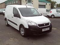 Peugeot Partner 850 1.6HDI 92ps Professional Air Con Sat Nav DIESEL WHITE (2015)