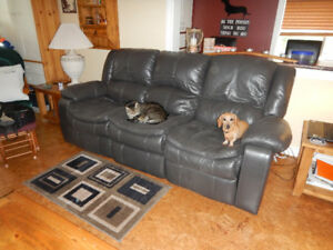 Chesterfield with Powerglide Recliners ***REDUCED***