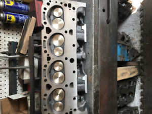 """SMALL BLOCK CHEVY """"041"""" CYLINDER HEADS RECONDITIONED"""