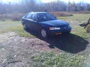 For sale 2000 Acura Quebec plated
