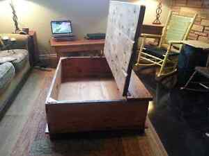Custom Built - Rustic Pine, Chest Style, Coffee Table Peterborough Peterborough Area image 8